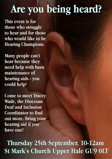 Are you being heard (2)