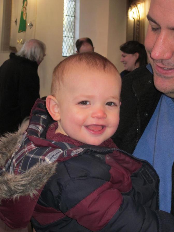 Baptism Reunion