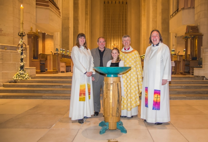 Confirmations at the Cathedral