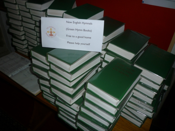Hymn Books free to a good home
