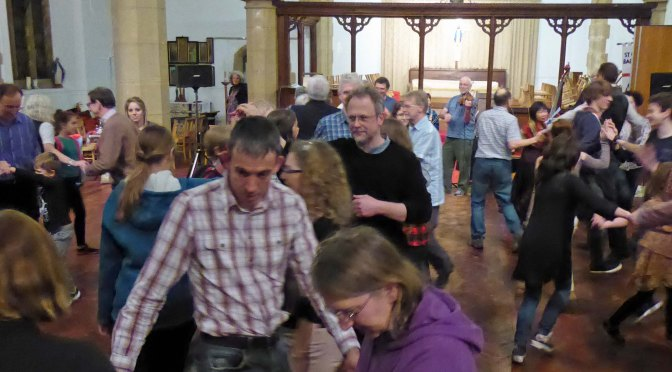 Parish Barn Dance goes with a swing