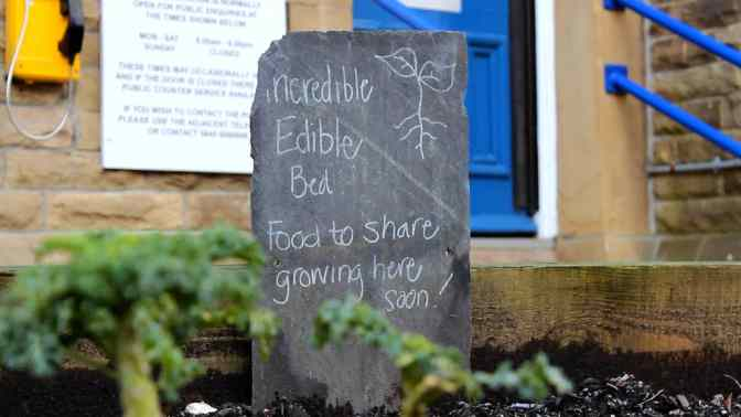 Incredible Edible goes ahead in Hale