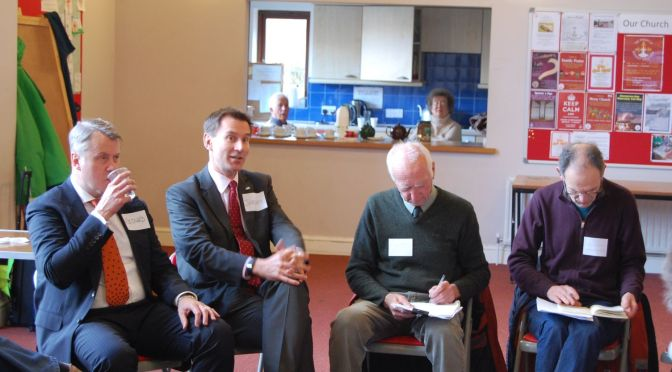 Climate Change meeting with Jeremy Hunt