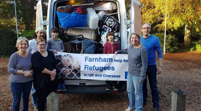 Collection to help refugees