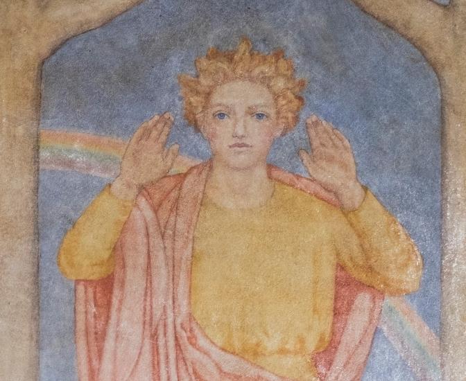 Rare murals are one of Farnham's hidden treasures