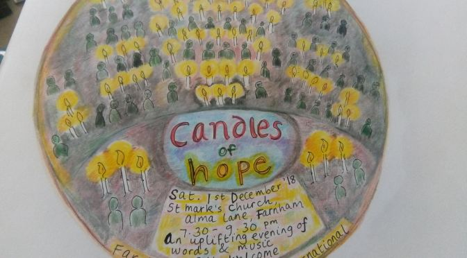 Candles of Hope shine a light on human rights