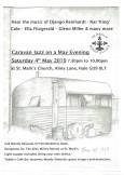 Caravan Jazz on a May Evening -04.05.19-flyer