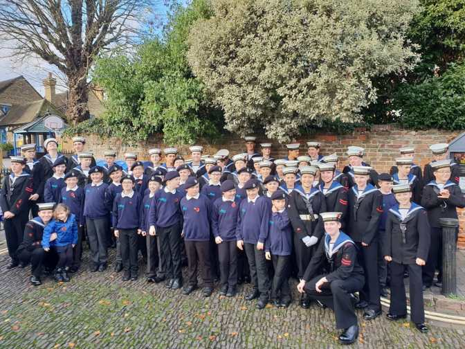 Saints, cadets and cake