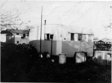 Bluebird caravan 1957