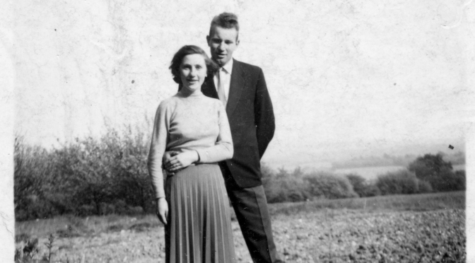 Favourite jazz for two of Farnham's favourites: Jean and Ted Parratt