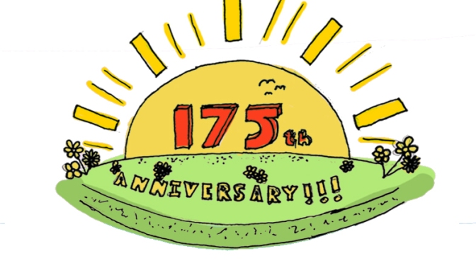An invitation to our 175th birthday service