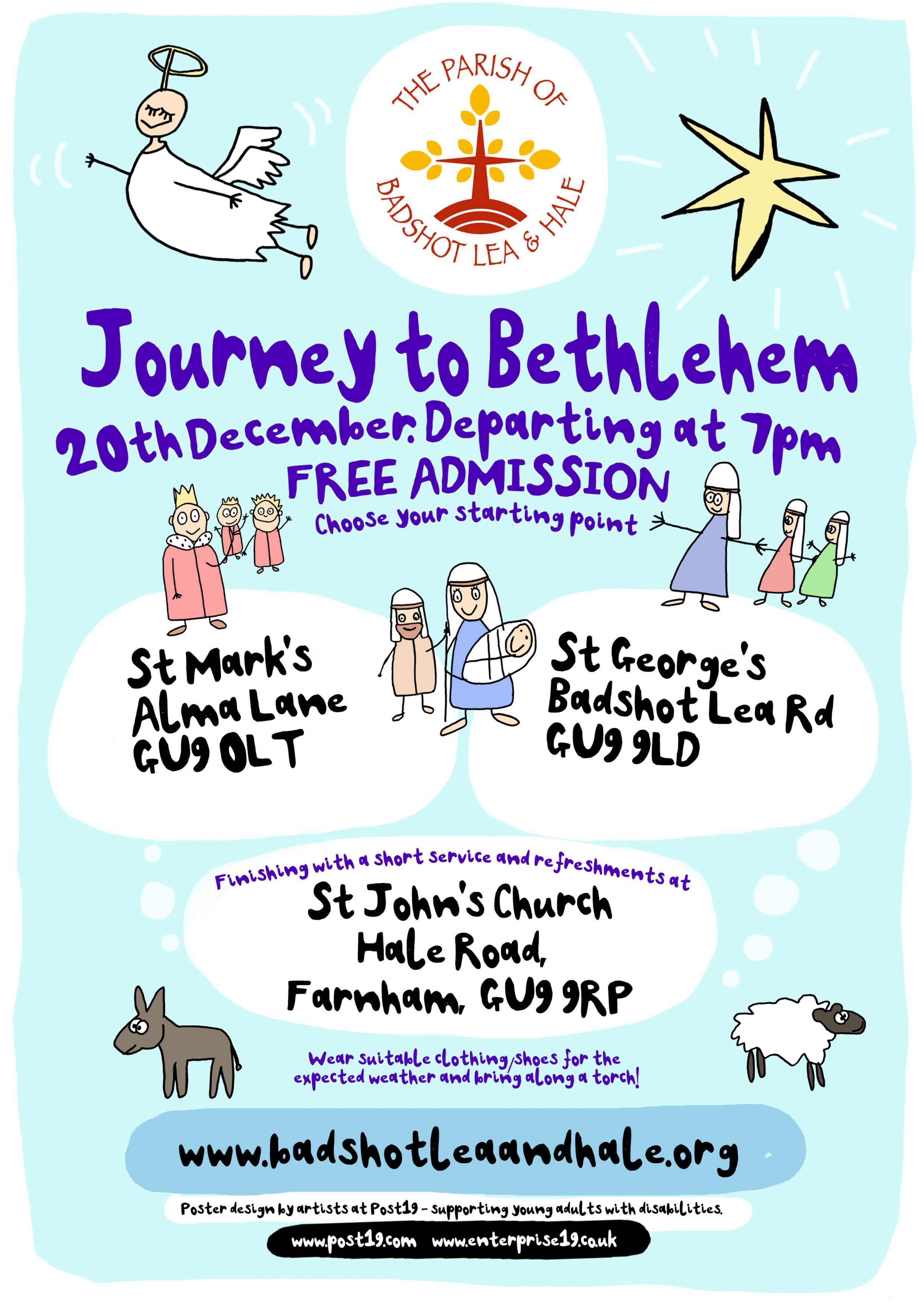 Journey to Bethlehem front