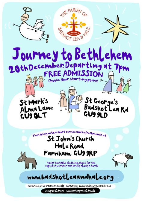 Journey to Bethlehem front