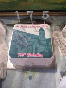 The 175th birthday cake