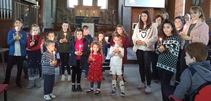 Celebrating Christingle
