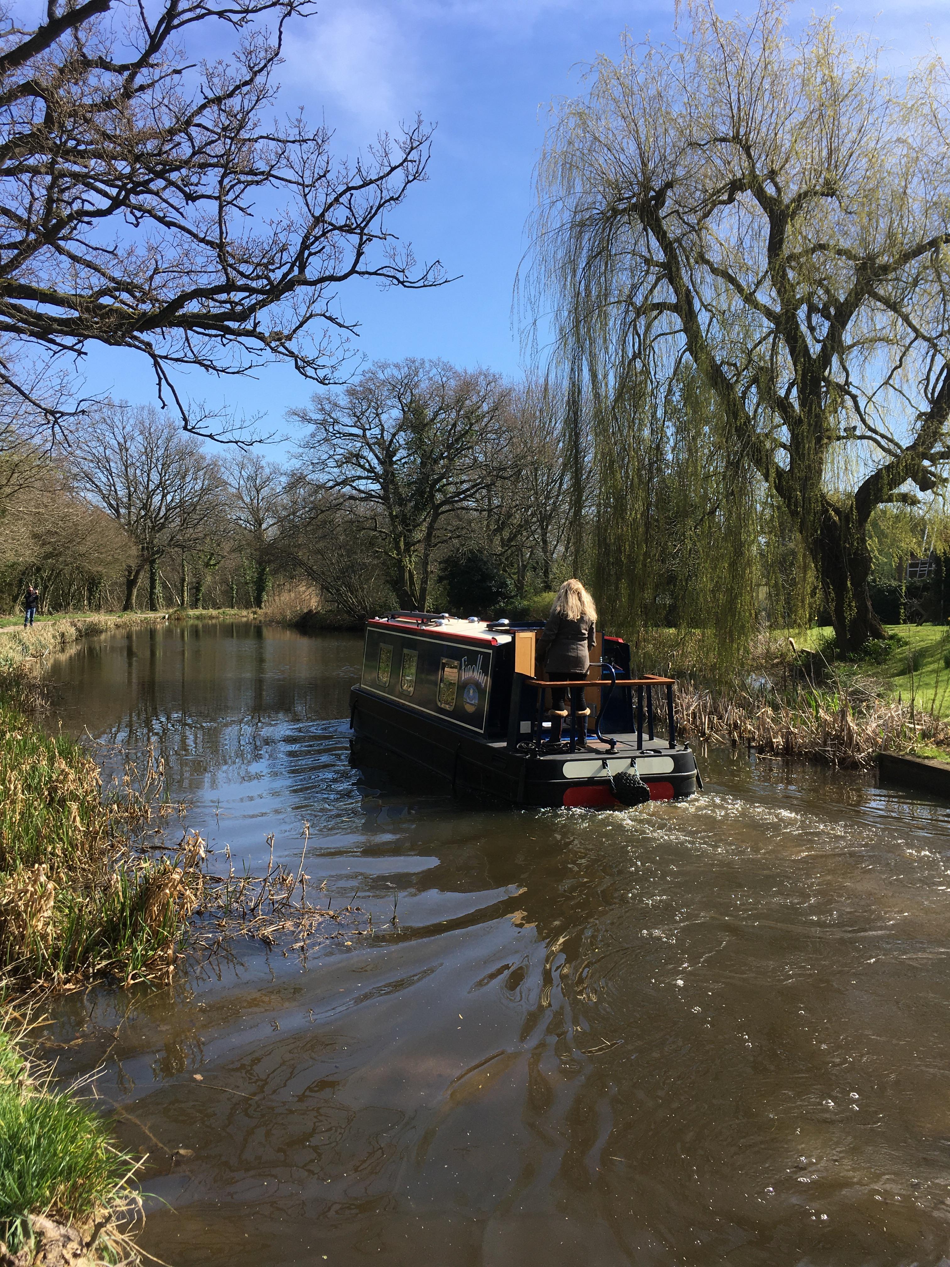 Basingstoke Canal Wendy-Rae