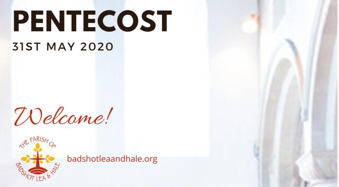 Sunday Worship – Pentecost