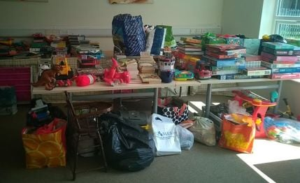 Share Farnham donations 1