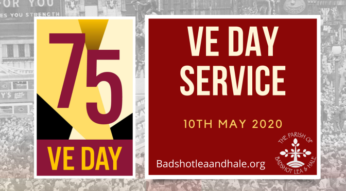 VE Day Service – 10th May