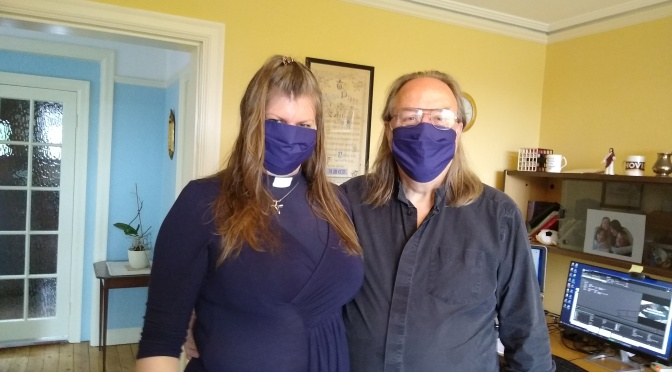 Interfaith friendship and facemasks