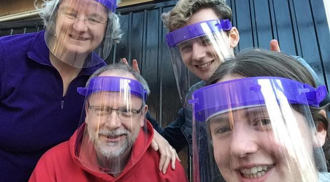 Liz's Lockdown Labour – 700 PPE Visors for Frontline staff