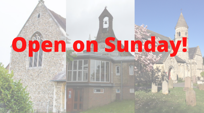 Churches reopen for services