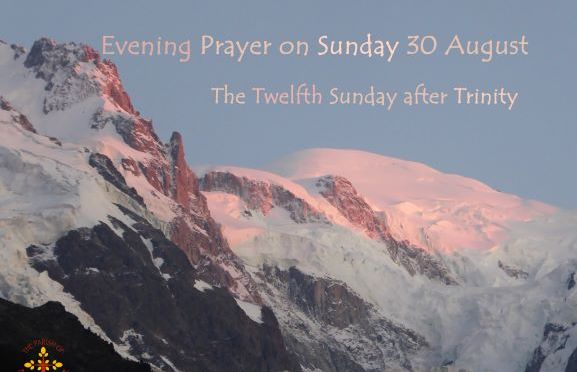 Evening Prayer – 30th August 2020