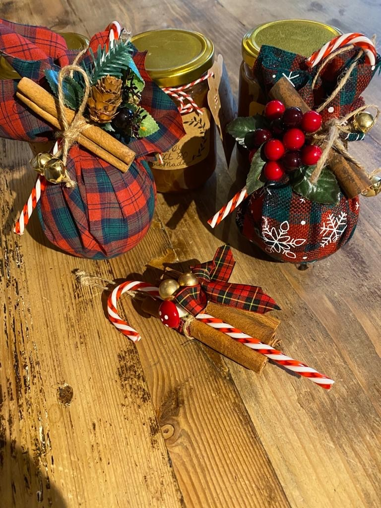 Christmas decorations £3.