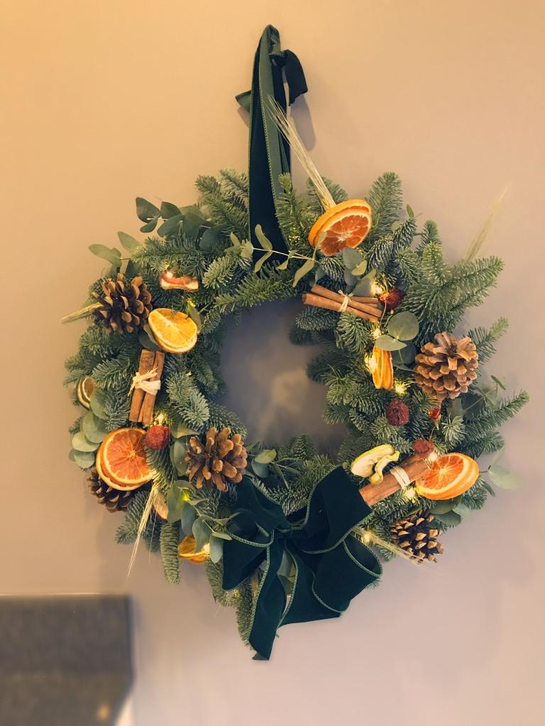 Christmas wreath £40