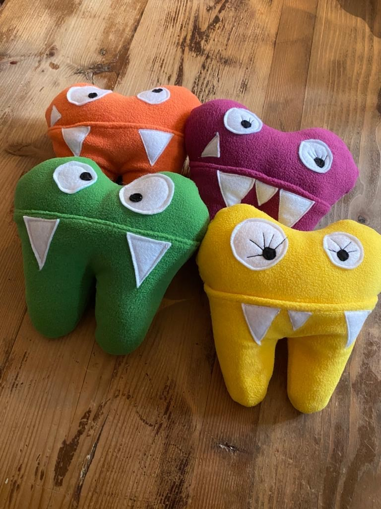 Tooth bags for the Tooth Fairy, £5.
