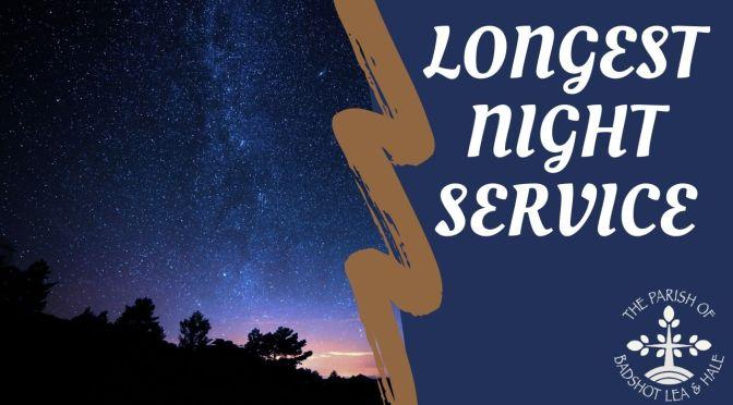 Longest Night – 21st December