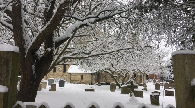 A shot of Snow
