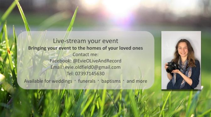 Live-stream your event