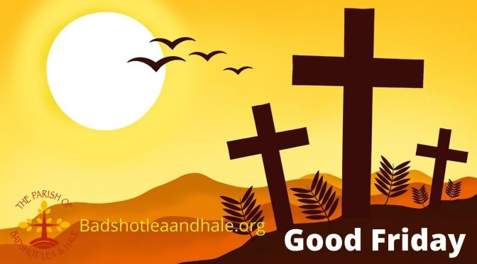 Good Friday Service – 2nd April