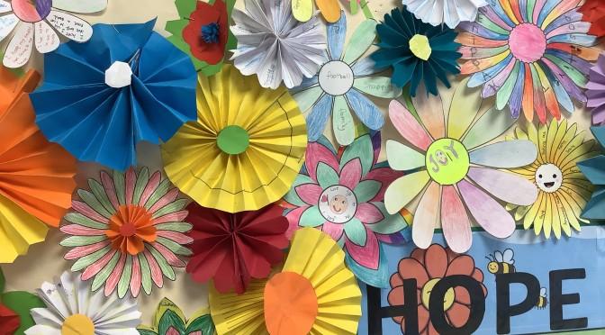 A Gallery of Hope and Joy – the 2021 Farnham Flower Festival