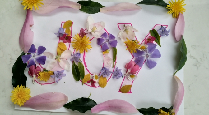 Flowers, Hope and Joy in Verse