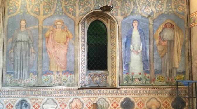The Murals have been restored!